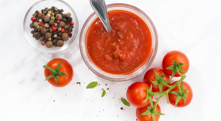 Пошаговый рецепт кетчупа