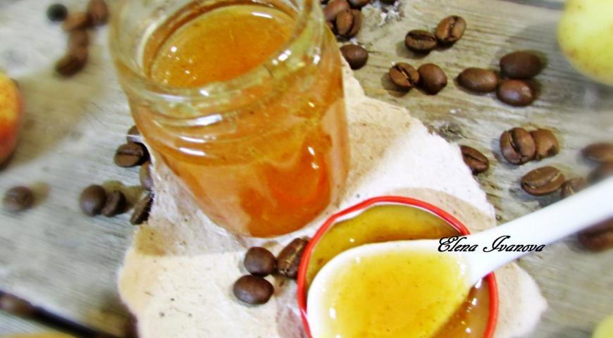 Джем - Кофейный абрикос с ванилью, пошаговый рецепт с фото