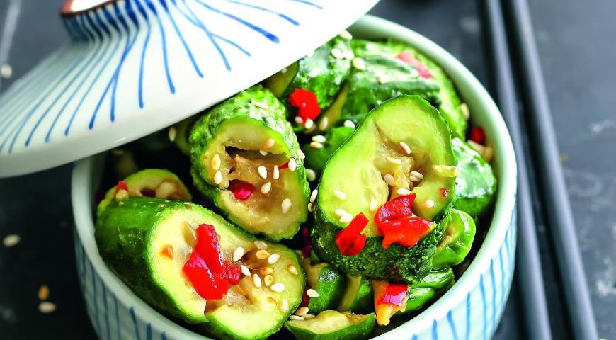 Биті огірки по-китайськи