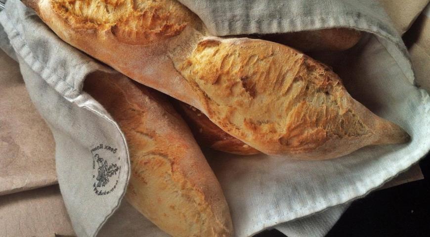 багет на опаре от буфета Гнездо пекаря, Суздаль