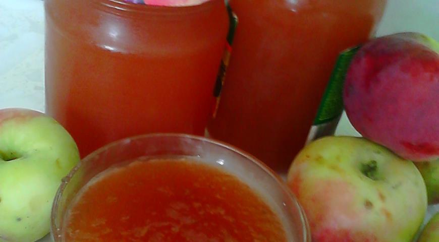 Как сварить повидла с яблоками