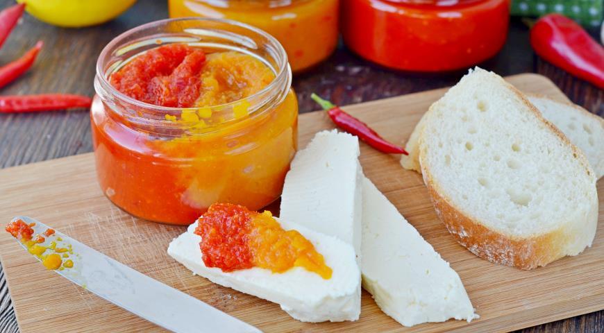 Конфитюр из сладкого и острого перцев, пошаговый рецепт с фото