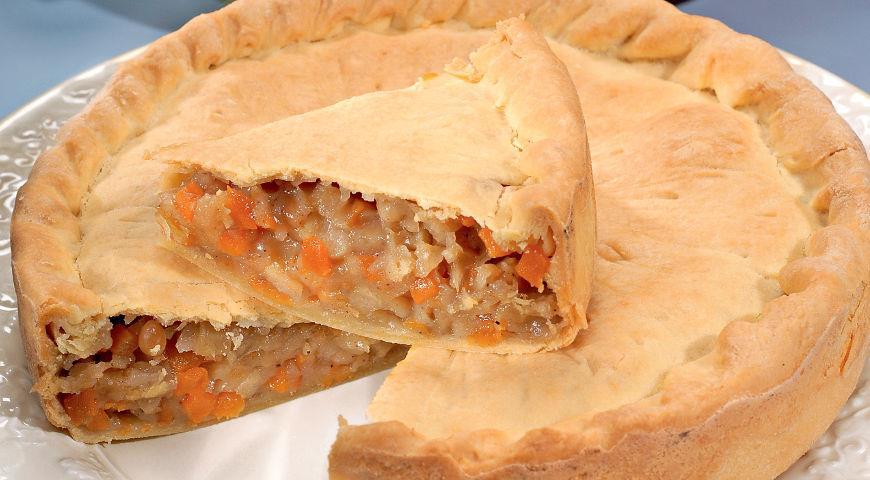 пирог с тыквы рецепт с фото