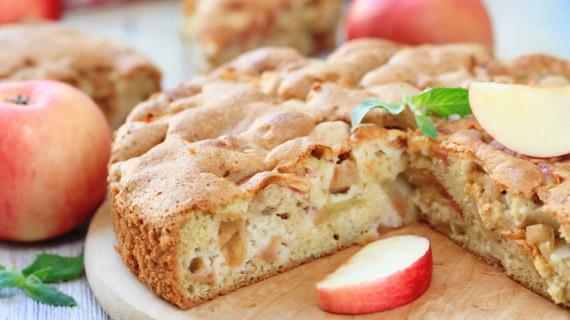 Пироги с яблоками. Яблочный пирог