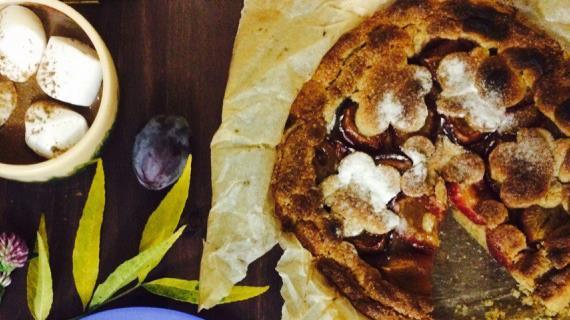 Рецепты пирог со сливой 164