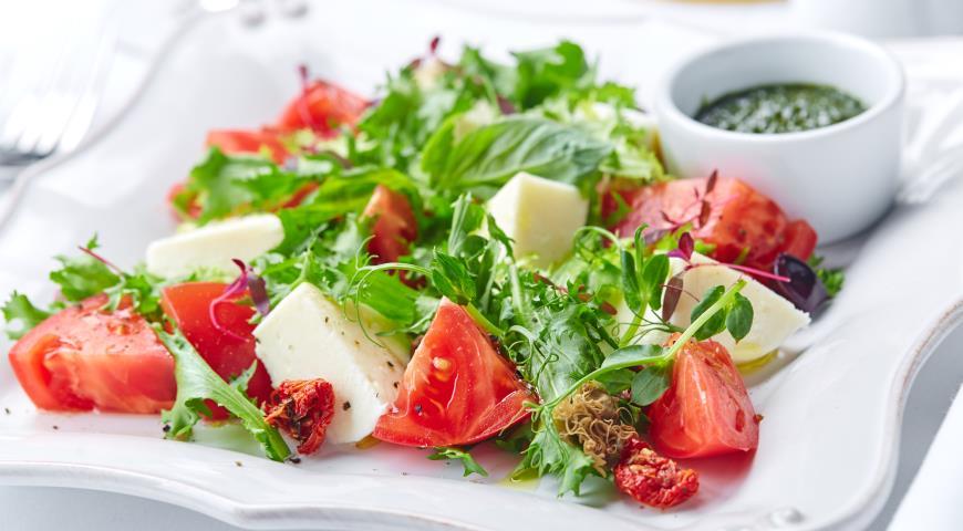 Моцарелла рецепт салата с