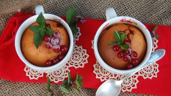 Кексы с красной смородиной рецепты 185
