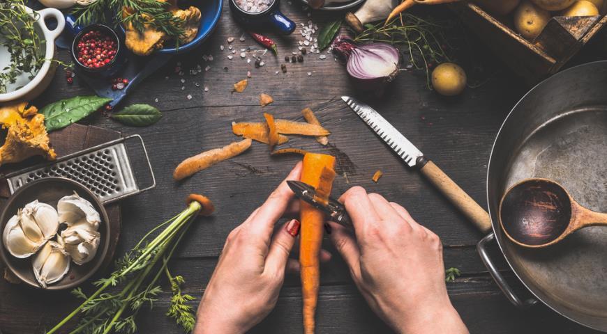 Готовим морковку