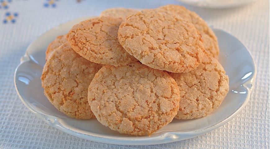 Белое марципановое печенье из Джойя дель Колле, пошаговый рецепт с фото