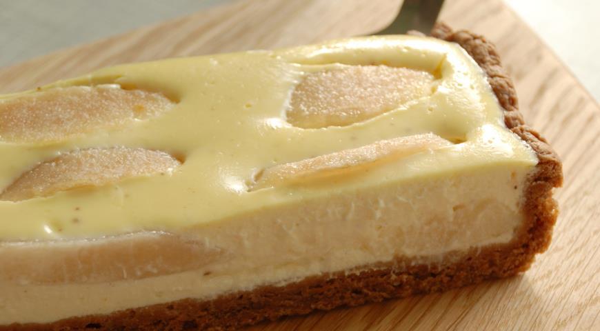 Заливной пирог с творогом в духовке