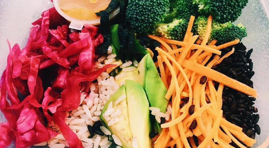 Макробиотический салат, пошаговый рецепт с фото