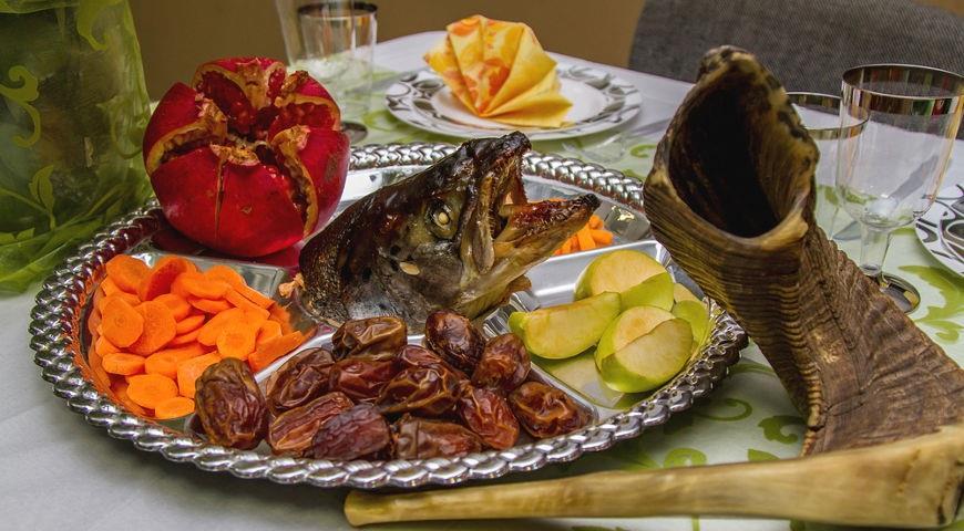 Традиционные продукты на Рош Ха-Шана