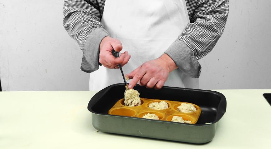 Фото приготовления рецепта: Постное печенье с изюмом, шаг №4