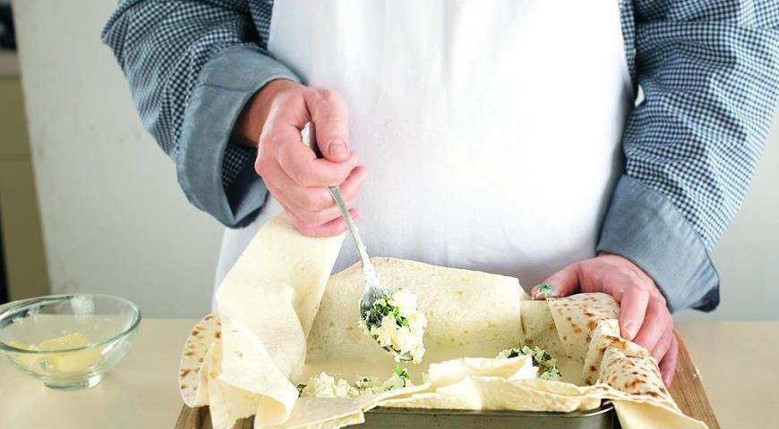 Быстрая ачма  с лавашом , пошаговый рецепт с фото
