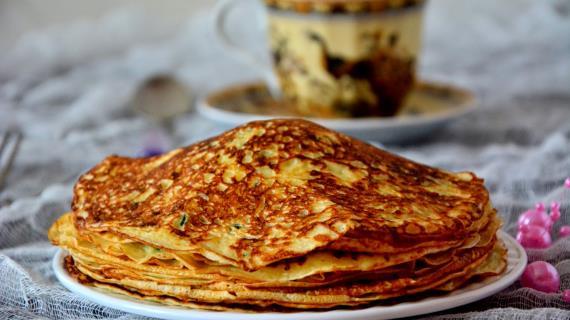 сырные блины рецепт с фото