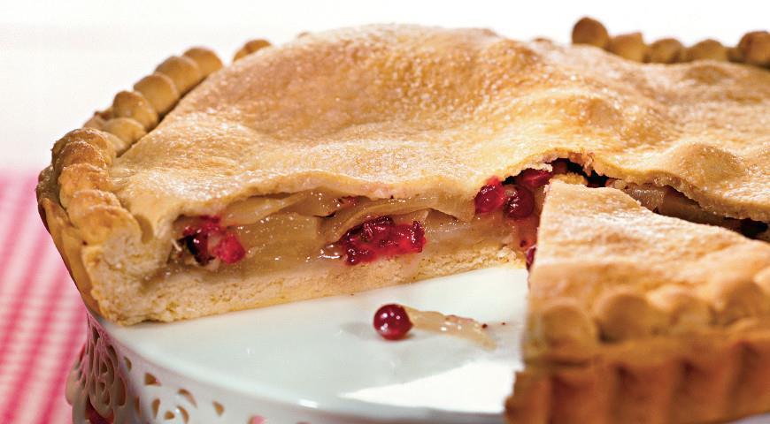 пирог из клюквы