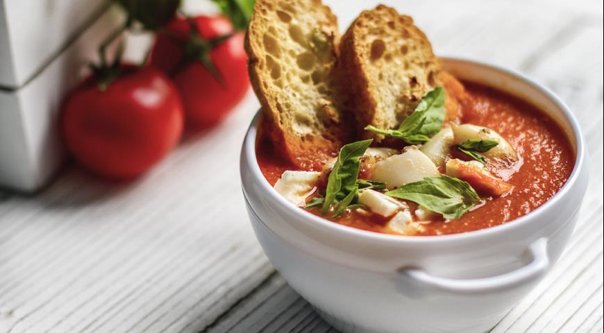 Томатный диетический суп рецепты
