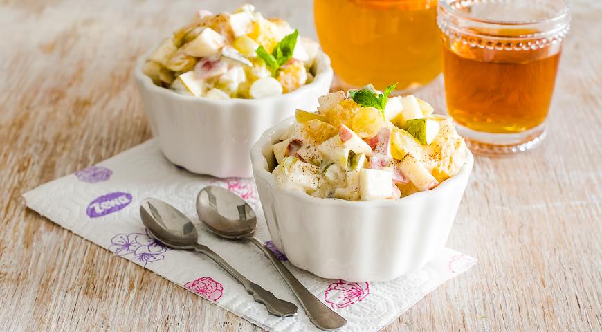 Салат фруктовый со свеклой рецепт