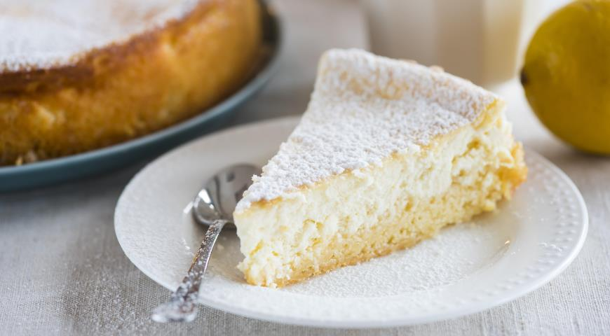 фото пирог лимонный