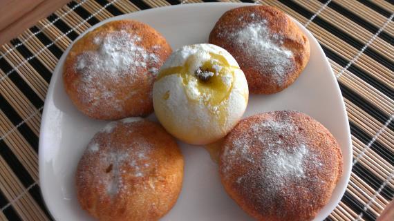 Творожные шарики рецепт пошагово вареные