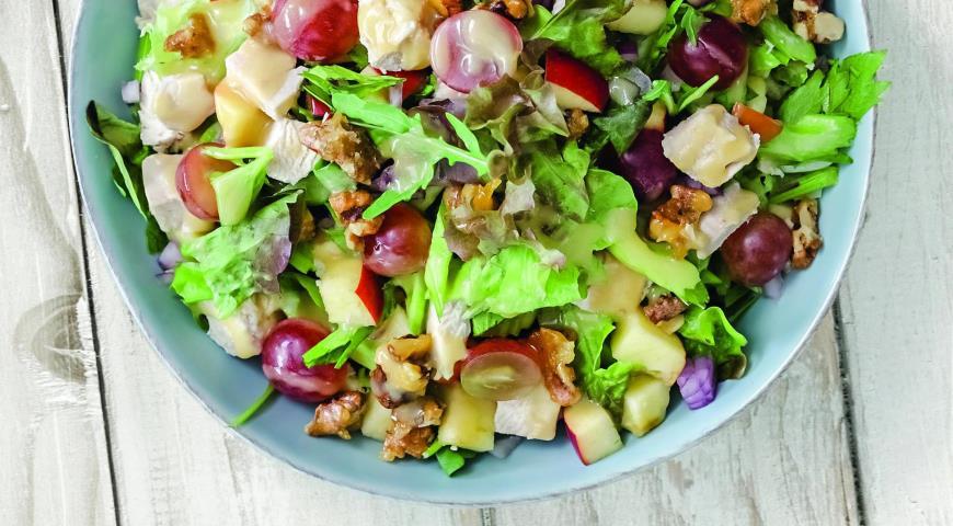 пошаговый рецепт салат с сельдереем