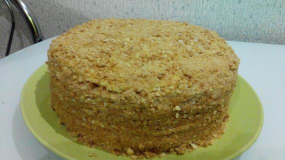 Медовый торт с апельсиновым акцентом