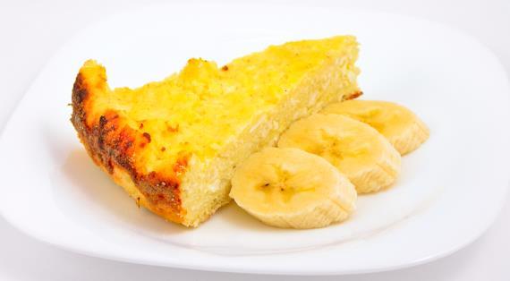Банановый чизкейк