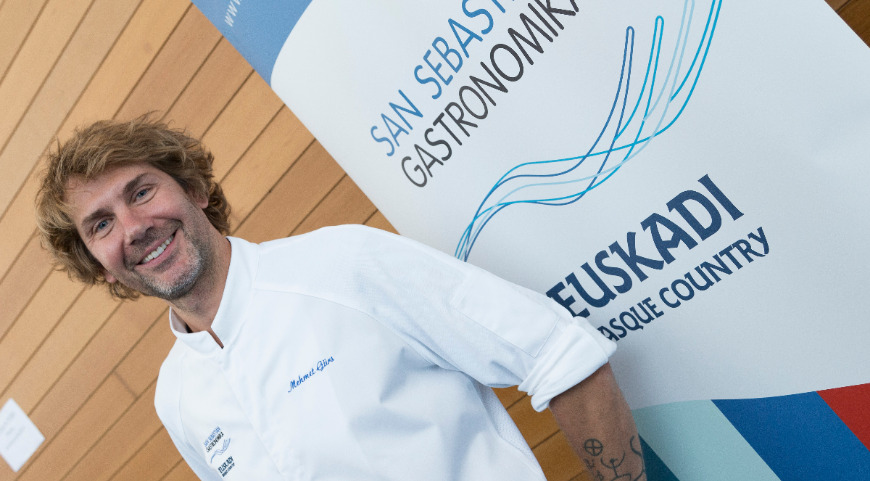 Мехмет Гюрс, участник конгресса Gastronomica