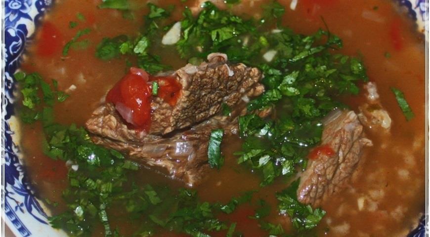Харчо, суп от Тамары Платоновны Сулаквелидзе. Шаг 35