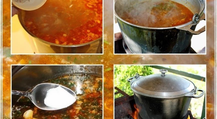 Харчо, суп от Тамары Платоновны Сулаквелидзе. Шаг 33