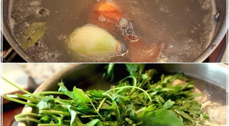 Харчо, суп от Тамары Платоновны Сулаквелидзе. Шаг 9