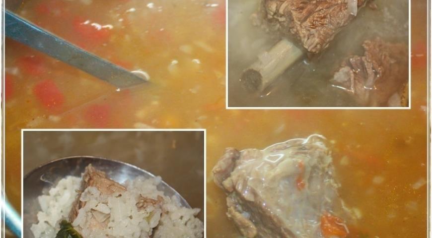 Харчо, суп от Тамары Платоновны Сулаквелидзе. Шаг 32