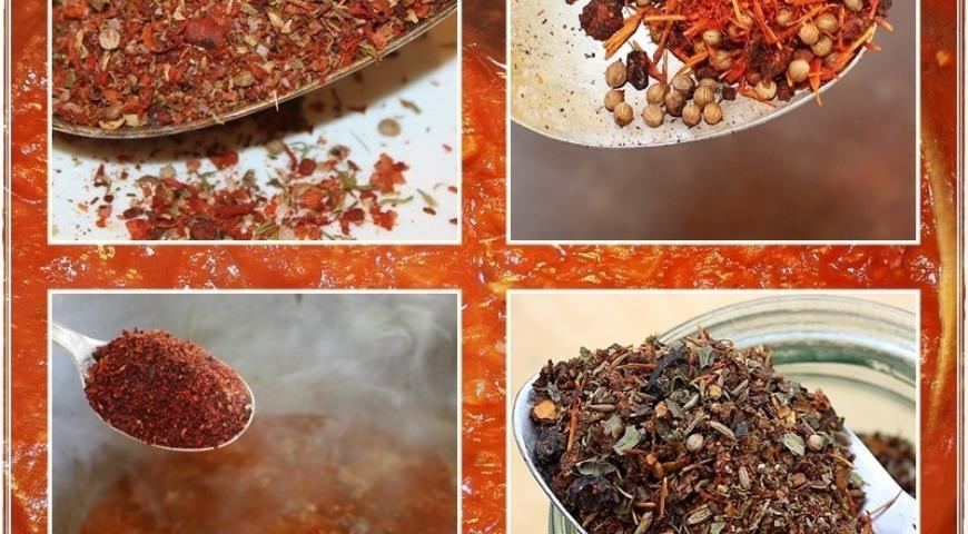 Харчо, суп от Тамары Платоновны Сулаквелидзе. Шаг 23