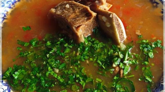 Харчо, суп от Тамары Платоновны Сулаквелидзе
