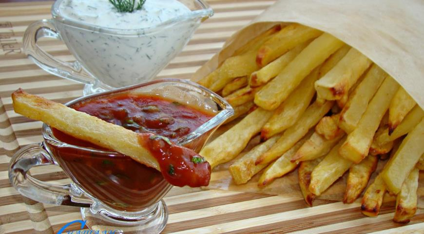 Картопля - фрі в духовці