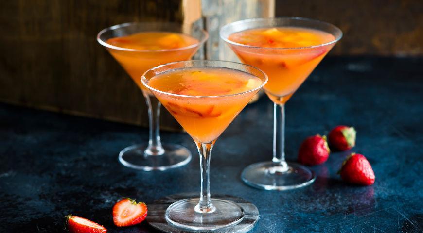 алкогольный винный коктейль рецепт