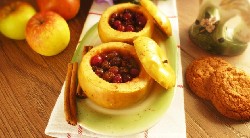 приготовление печеных яблок