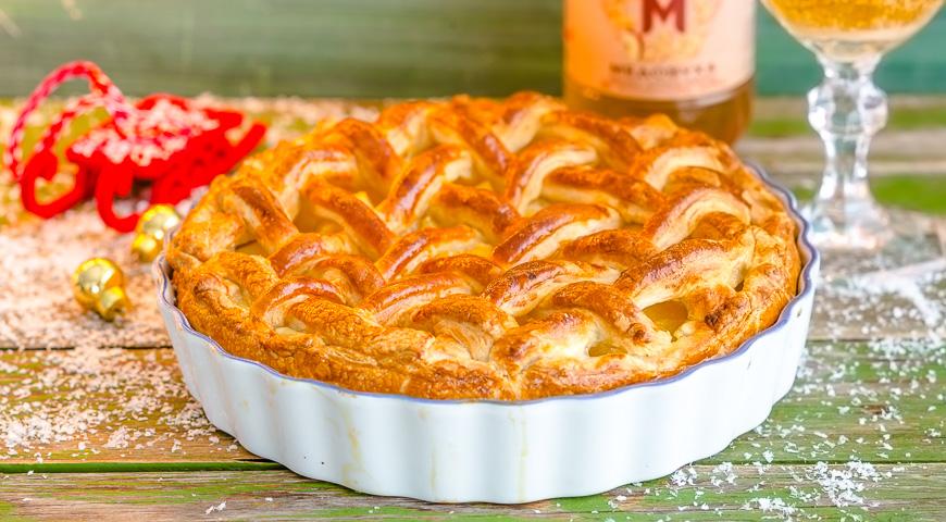 пирог в мультиварке с грушами и творогом рецепт