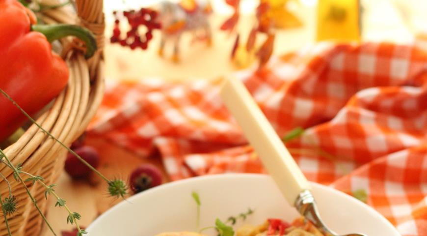 рагу из филе курицы с овощами рецепт