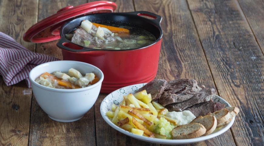 Мясо по-венски– тафельшпиц , пошаговый рецепт с фото
