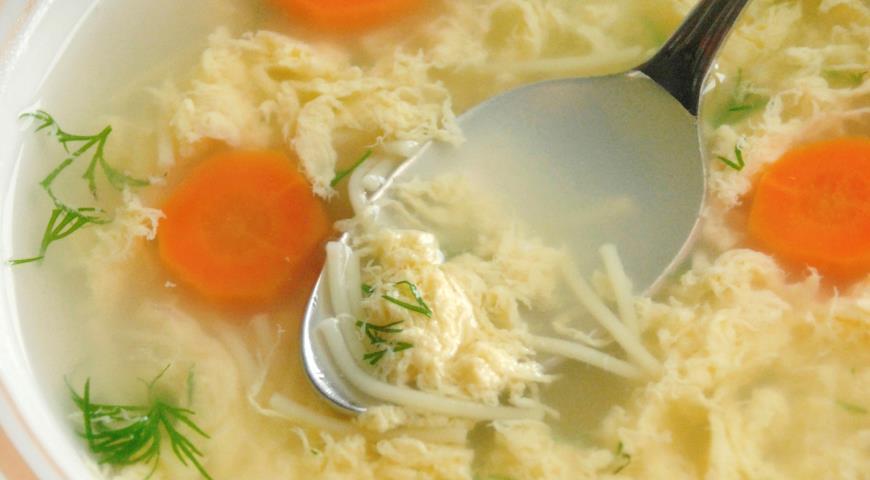 куриный суп с перепелиными яйцами рецепты