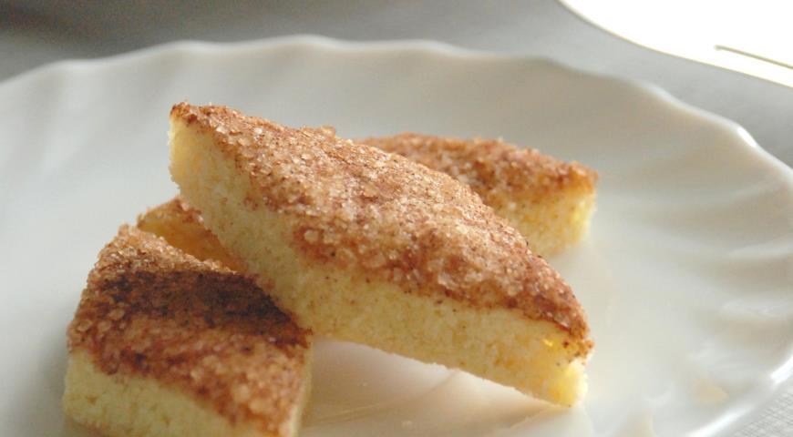 Рецепт печенья земелах с корицей