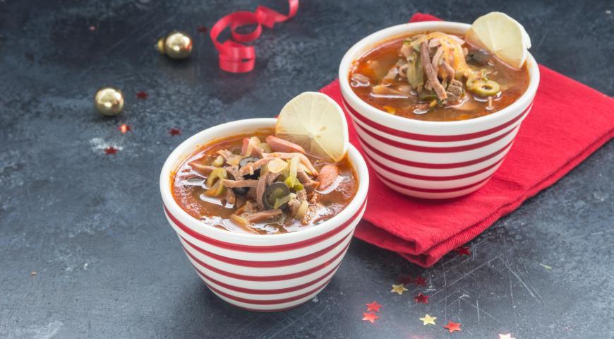 Суп солянка классическая, пошаговый рецепт с фото