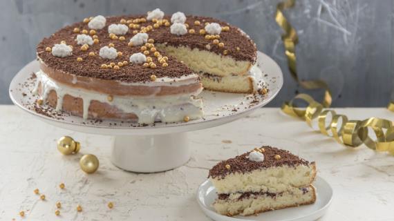 Простой торт без выпечки