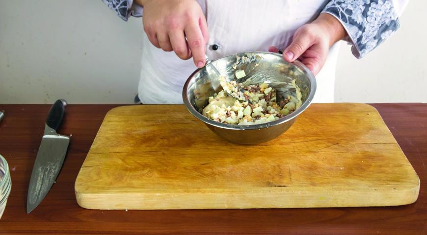 Салат из печени трески с рисом, пошаговый рецепт с фото
