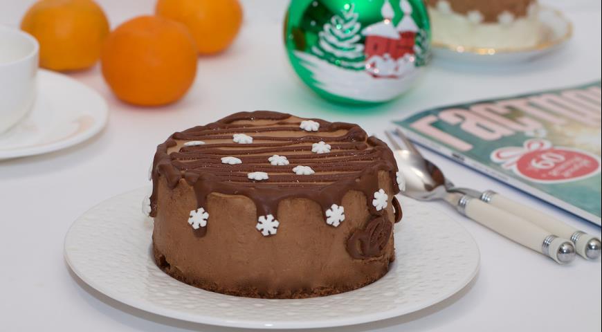 Кокосово-шоколадный десерт