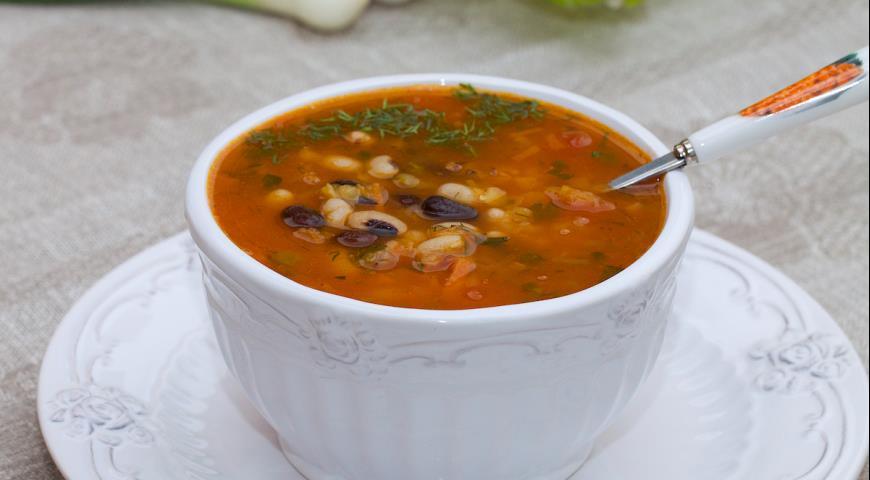 суп из чечевицы и фасоли рецепт с фото