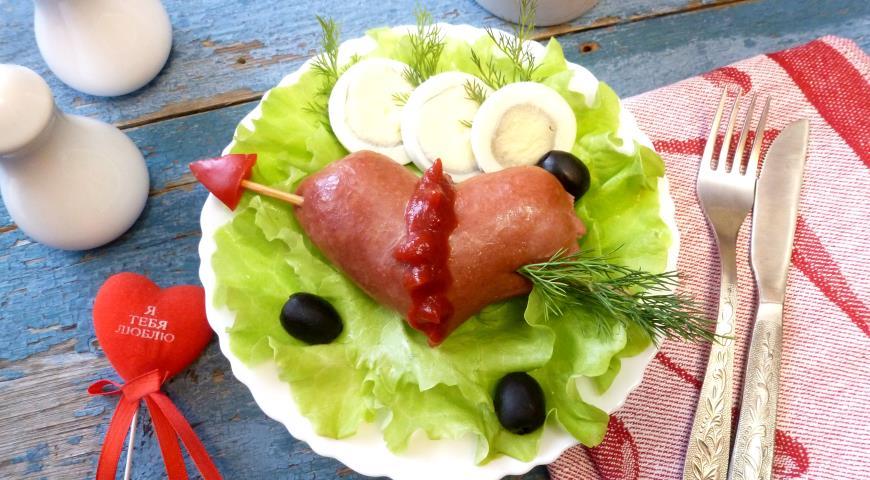 Блюда из сосисок рецепт приготовления