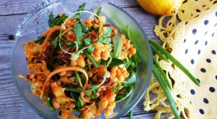 салат ежик с морковкой по корейски рецепт с фото