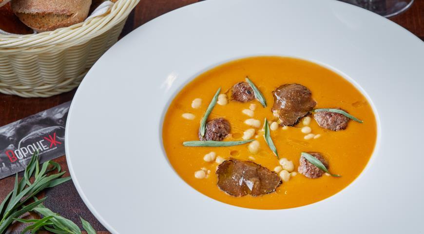 суп пюре с фрикадельками пошаговый рецепт с фото